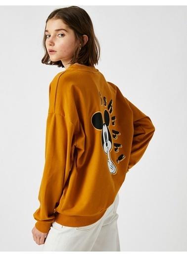 Koton Sweatshırts Sarı